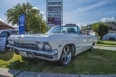 αμάξι SS impala chevrolet του 1965 Στοκ Φωτογραφίες