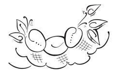 δαμάσκηνα Στοκ φωτογραφία με δικαίωμα ελεύθερης χρήσης