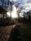 Αμέσως πριν από τη The Sun πηγαίνει κάτω στοκ φωτογραφία με δικαίωμα ελεύθερης χρήσης