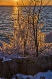 Αμέσως πριν από το ηλιοβασίλεμα Στοκ φωτογραφία με δικαίωμα ελεύθερης χρήσης