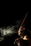 Αμαζόνειο πορτρέτο σαμάνων Στοκ φωτογραφία με δικαίωμα ελεύθερης χρήσης