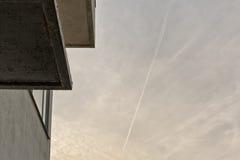 Αμβέρσα, ΒΕΛΓΙΟ - τον Οκτώβριο του 2016: Σπίτι Guiette που σχεδιάζεται από το Le Corbusier ` το s το 1926 Αυτό ` s ένα πρόωρο και Στοκ φωτογραφία με δικαίωμα ελεύθερης χρήσης