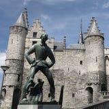 Αμβέρσα Castle στοκ εικόνες