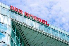 ΑΜΒΟΥΡΓΟ, ΓΕΡΜΑΝΙΑ - 22 ΜΑΐΟΥ 2016: Γερμανικό περιοδικό Der Spiegel Στοκ φωτογραφία με δικαίωμα ελεύθερης χρήσης