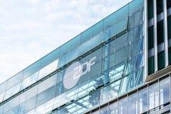 ΑΜΒΟΥΡΓΟ, ΓΕΡΜΑΝΙΑ - 22 ΜΑΐΟΥ 2016: Τηλεοπτικά γραφεία ZDF Στοκ Εικόνες