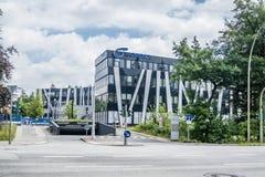 Αμβούργο, Γερμανία - 15 Ιουλίου 2017: Η έδρα Nordex βρίσκεται στην πόλη του Αμβούργο και προσφέρει ισχυρό Στοκ φωτογραφία με δικαίωμα ελεύθερης χρήσης