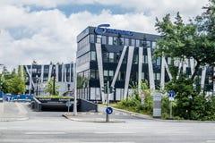 Αμβούργο, Γερμανία - 15 Ιουλίου 2017: Η έδρα Nordex βρίσκεται στην πόλη του Αμβούργο και προσφέρει ισχυρό Στοκ φωτογραφίες με δικαίωμα ελεύθερης χρήσης