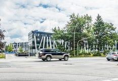 Αμβούργο, Γερμανία - 15 Ιουλίου 2017: Η έδρα Nordex βρίσκεται στην πόλη του Αμβούργο και προσφέρει ισχυρό Στοκ Εικόνες