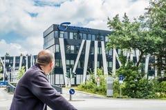 Αμβούργο, Γερμανία - 15 Ιουλίου 2017: Η έδρα Nordex βρίσκεται στην πόλη του Αμβούργο και προσφέρει ισχυρό Στοκ Εικόνα
