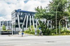 Αμβούργο, Γερμανία - 15 Ιουλίου 2017: Η έδρα Nordex βρίσκεται στην πόλη του Αμβούργο και προσφέρει ισχυρό Στοκ Φωτογραφία