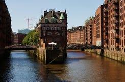 Αμβούργο Γερμανία Στοκ φωτογραφία με δικαίωμα ελεύθερης χρήσης
