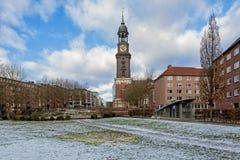 Αμβούργο Στοκ εικόνες με δικαίωμα ελεύθερης χρήσης