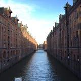 Αμβούργο speicherstadt Στοκ Φωτογραφία