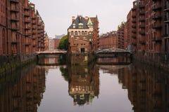 Αμβούργο Wasserschloss, Γερμανία Στοκ εικόνα με δικαίωμα ελεύθερης χρήσης