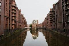 Αμβούργο Wasserschloss, Γερμανία Στοκ Εικόνες