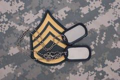 Αμερικάνικος στρατός ομοιόμορφος Στοκ Εικόνες