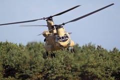Αμερικάνικος στρατός Boeing CH-47 ελικόπτερο σινούκ στοκ εικόνες με δικαίωμα ελεύθερης χρήσης