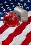 Αμερική στην εργασία Στοκ Εικόνες