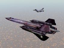 Αμερικανικά αεροσκάφη αναγνώρισης Στοκ φωτογραφία με δικαίωμα ελεύθερης χρήσης