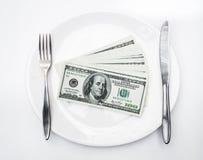 Αμερικανικά αμερικανικά δολάρια Στοκ εικόνα με δικαίωμα ελεύθερης χρήσης