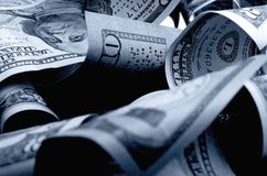 Αμερικανικά δολάρια μετρητών Στοκ εικόνα με δικαίωμα ελεύθερης χρήσης