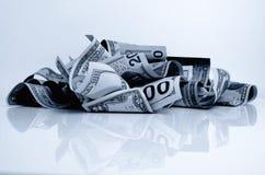 Αμερικανικά δολάρια μετρητών Στοκ Εικόνες