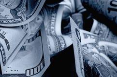 Αμερικανικά δολάρια μετρητών Στοκ Φωτογραφίες