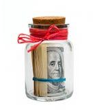 αμερικανικά δολάρια τραπ& Στοκ Εικόνες