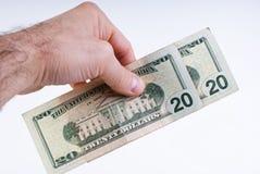 αμερικανικά δολάρια Στοκ εικόνα με δικαίωμα ελεύθερης χρήσης