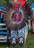 Αμερικανικά ινδικά headdress σε Pow wow Στοκ φωτογραφία με δικαίωμα ελεύθερης χρήσης