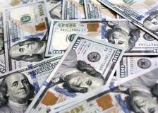 Αμερικανικά νέα δολάρια στοκ φωτογραφίες