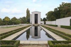 Αμερικανικά νεκροταφείο και μνημείο του Καίμπριτζ Στοκ φωτογραφίες με δικαίωμα ελεύθερης χρήσης