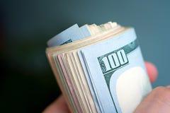 Αμερικανικά δολάρια δεσμών Στοκ φωτογραφίες με δικαίωμα ελεύθερης χρήσης