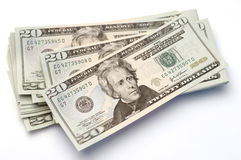 αμερικανικά δολάρια Στοκ φωτογραφία με δικαίωμα ελεύθερης χρήσης