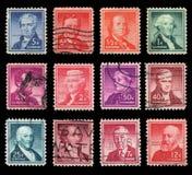 Αμερικανικά ταχυδρομικά τέλη Στοκ Εικόνες