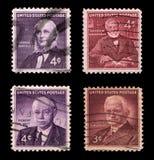 Αμερικανικά ταχυδρομικά τέλη Στοκ φωτογραφία με δικαίωμα ελεύθερης χρήσης