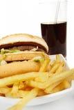 αμερικανικά τρόφιμα στοκ εικόνα