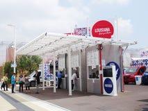Αμερικανικά τρόφιμα - EXPO 2015 Στοκ Εικόνες