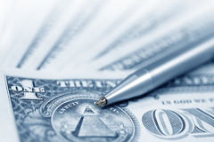 αμερικανικά χρήματα δολα στοκ εικόνες με δικαίωμα ελεύθερης χρήσης