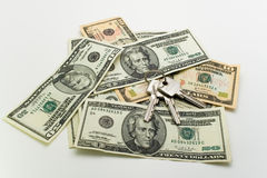 αμερικανικά χρήματα Στοκ φωτογραφία με δικαίωμα ελεύθερης χρήσης