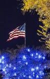 αμερικανικά Χριστούγενν&alp Στοκ εικόνες με δικαίωμα ελεύθερης χρήσης