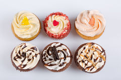 αμερικανικά cupcakes Στοκ Εικόνες