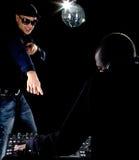 αμερικανικές νεολαίες του DJ afro Στοκ φωτογραφίες με δικαίωμα ελεύθερης χρήσης