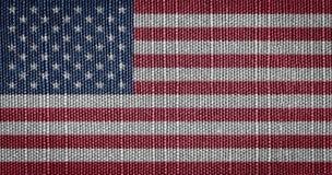 Αμερικανικές σημαίες ΗΠΑ Στοκ Φωτογραφίες