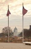 αμερικανικές σημαίες Στοκ Εικόνες