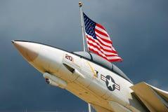 Αμερικανική αεροπορική ισχύς στοκ φωτογραφία