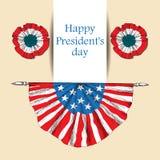 αμερικανική ανεξαρτησία η Καπέλο με τη σημαία των Ηνωμένων Πολιτειών της Αμερικής με την ταινία Το αμερικανικό σύμβολο είναι θ ελεύθερη απεικόνιση δικαιώματος