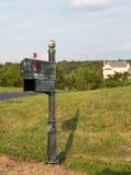 Αμερικανική θέση ή ταχυδρομική θυρίδα από την πλευρά της οδού Στοκ εικόνες με δικαίωμα ελεύθερης χρήσης