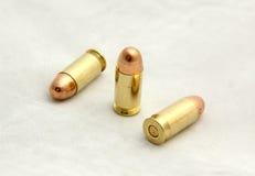 Αμερικανική θερμ. .45 ΑΚΕ σφαίρα Στοκ εικόνα με δικαίωμα ελεύθερης χρήσης