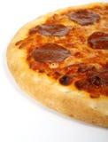 αμερικανική ιταλική pepperoni τυριών πίτσα παραδοσιακή Στοκ Φωτογραφία